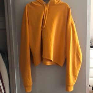 Sweaters - Cropped hoodie